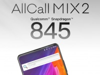 Обновленная версия смартфона AllCall Mix2 получит смартфон Qualcomm Snapdragon 845