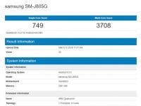 Смартфон Samsung Galaxy J8+ засветился в базе Geekbench с не самой свежей платформой Qualcomm