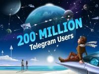 В Telegram уже более 200 млн активных пользователей