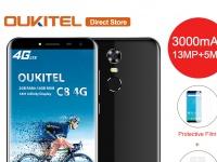 Товар дня: OUKITEL C8 4G за $77.99 и OUKITEL K3 за $145.99