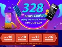 11 смартфонов OUKITEL будут предлагаться со скидкой в рамках распродажи на День рождения Aliexpress