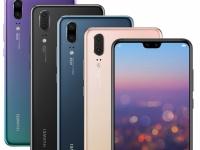 Компания Huawei представила модели смартфонов Huawei P20 и Huawei P20 Pro