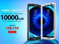 Товар дня: HOMTOM HT70 за $158.75 - самый тонкий смартфон с батареей на 10000 мАч по промо цене