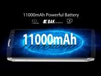Опубликован реальный тест батареи смартфона Blackview P10000 Pro с аккумулятором на 11000 мАч
