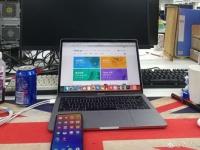 Meizu 15 с активным экраном на новом живом фото?