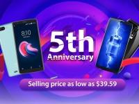 Blackview отмечает 5-лет присутствия на рынке скидками и ценами на смартфоны от $39.59