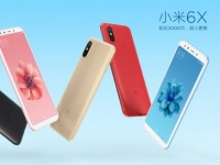 Смартфон Xiaomi Mi 6X показался в пяти цветах
