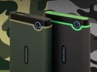 Transcend представляет обновленные защищенные жесткие диски Transcend StoreJet 25M3S и StoreJet 25M3G