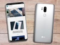 Выложен официальный рендер флагмана LG G7 ThinQ