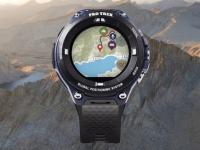 Умные часы Casio Pro Trek WSD-F20A помещены в усиленный корпус