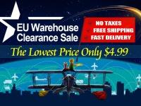 Распродажа склада в магазине Coolicool: цены от $4.99 и бесплатная доставка