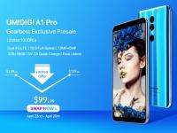 UMIDIGI A1 Pro с чипом MT6739 прошел тесты на производительность