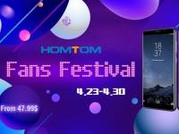 Бренд HOMTOM запустил распродажу на Tomtop.com: смартфоны от $47,99