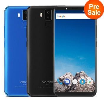 VERNEE X1 c Helio P23 и 6 ГБ ОЗУ на предпродаже за 9.99