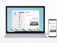Microsoft интегрирует смартфон в Windows 10