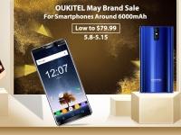 Распродажа долгоиграющих смартфонов Oukitel – от $79.99 за 6000 мАч