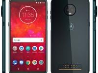 Дизайн Motorola Moto Z3 Play в цвете «глубокий индиго» со всех сторон