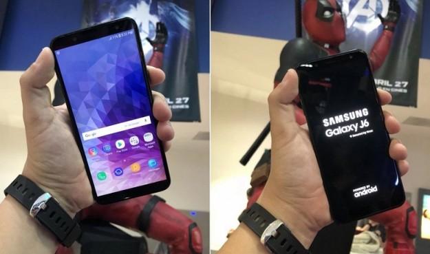 Появились некоторые фотографии смартфона Samsung Galaxy J6