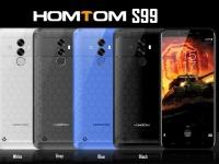 Товар дня: Homtom S99 - $129.99 на предпродаже за трубку с батареей на 6200 мАч и 4 ГБ ОЗУ