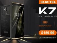 OUKITEL K7 показали в видео на разборке и планируют предпродажу на Banggood с 19 мая