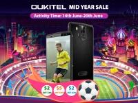 OUKITEL запустила распродажу смартфонов от $55.31