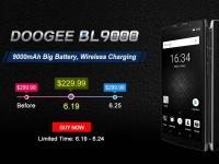 Товар дня: DOOGEE BL9000 за $229.99 только до 25 июня в Coolicool.com