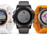 Garmin Fenix 5 Plus – умные часы с пульсоксиметром