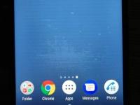 Sony прокомментировала полосы на экранах Xperia XZ1 и XZ2