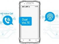Doogee S55 Lite получит технологию Dual SIM Dual VoLTE – всегда на связи