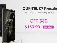 Смартфон Oukitel K7 можно использовать в качестве внешнего аккумулятора