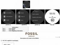 В базе данных FCC замечены новые модели умных часов Fossil