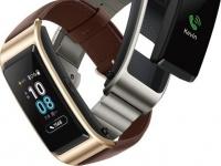 В умный браслет Huawei Talkband B5 встроят цветной экран OLED