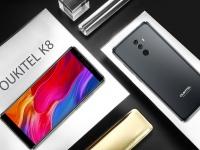 Смартфон OUKITEL K8 c 64 ГБ встроенной памяти и Face ID впервые покали на видео