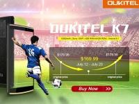 Товар дня: OUKITEL K7 продается по акционной цене в Coolicool за $169.99