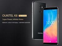 OUKITEL K8 показали в новом видео и озвучили 12 основных функций смартфона