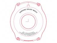 Часы Samsung Galaxy Watch: новое изображение и некоторые характеристики