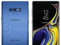 Смартфон Samsung Galaxy Note9 в цвете Deep Sea Blue замечен в Сети