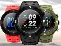 Новинка у NO.1 - смарт-часы F18 с TFT экраном, GPS и защитой IP68