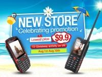 Ioutdoor отмечает открытие магазина на Aliexpress и предлагает телефон T1 по цене от $9.9