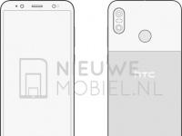HTC U12 Life в стиле Google Pixel на рендерах