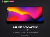 LEAGOO S10 с AMOLED дисплеем 6.21 дюймаFHD+ полуучит камеру SONY 20+5 Мпикс.