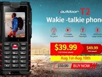 ioutdoor T2- телефон с рацией и защитой IP68 всего за $39.99 + розыгрыш