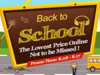 Скидки перед началом школы «Back to School» в Coolicool.com с 8 по 17 августа