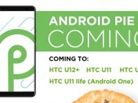 HTC подтвердила Android Pie для U12+, U11, U11+ и U11 Life Android One