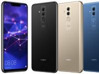 Huawei Mate 20 Lite в трех цветах на качественном рендере