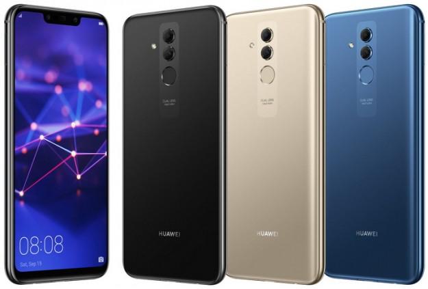 Huawei Mate 20 Lite три цвета