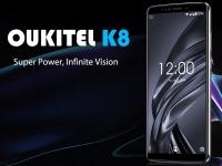 Раскрыты все характеристики OUKITEL K8 и опубликована распаковка: старт предпродажи 20 августа