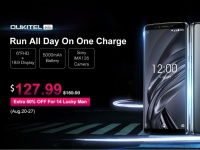 OUKITEL K8 запустили на предпродаже за $127.99: 14 счастливчиков получат трубку со скидкой 50%