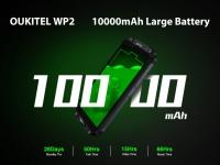 OUKITEL WP2 c батареей на 10000 мАч и 100% заряда протестировали на автономность