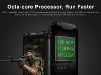 OUKITEL WP2 свободно работает в любых играх и сочетает защищенный корпус и батарею на 10000 мАч